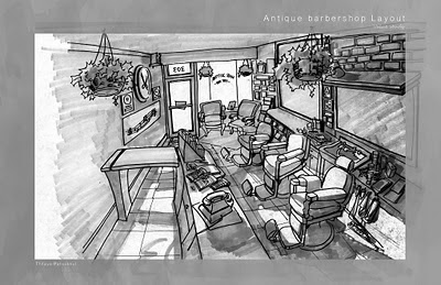 Barber Salon Blueprint Layout Joy Studio Design Gallery - Best ...