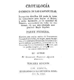 Crotalogía o ciencia de las castañuelas