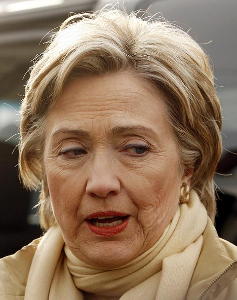 hillary clinton pictures. EXASPERATED HILLARY CLINTON
