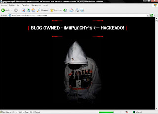 Este podría ser su Blog Hackeado