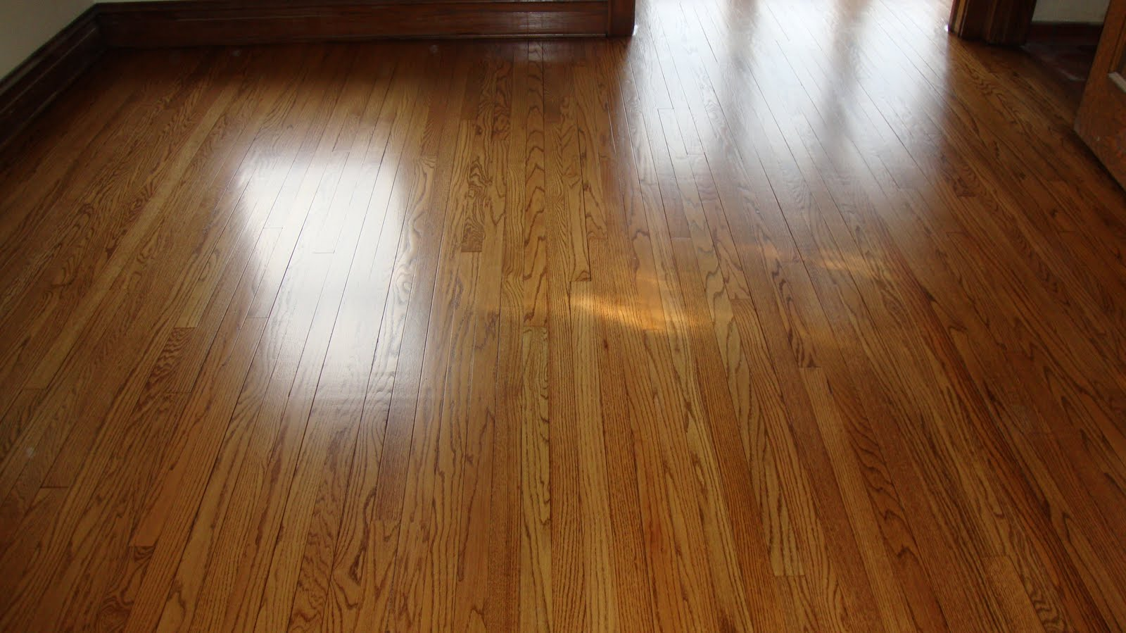 J k homestead re think re do rejoice for Hardwood floors too shiny