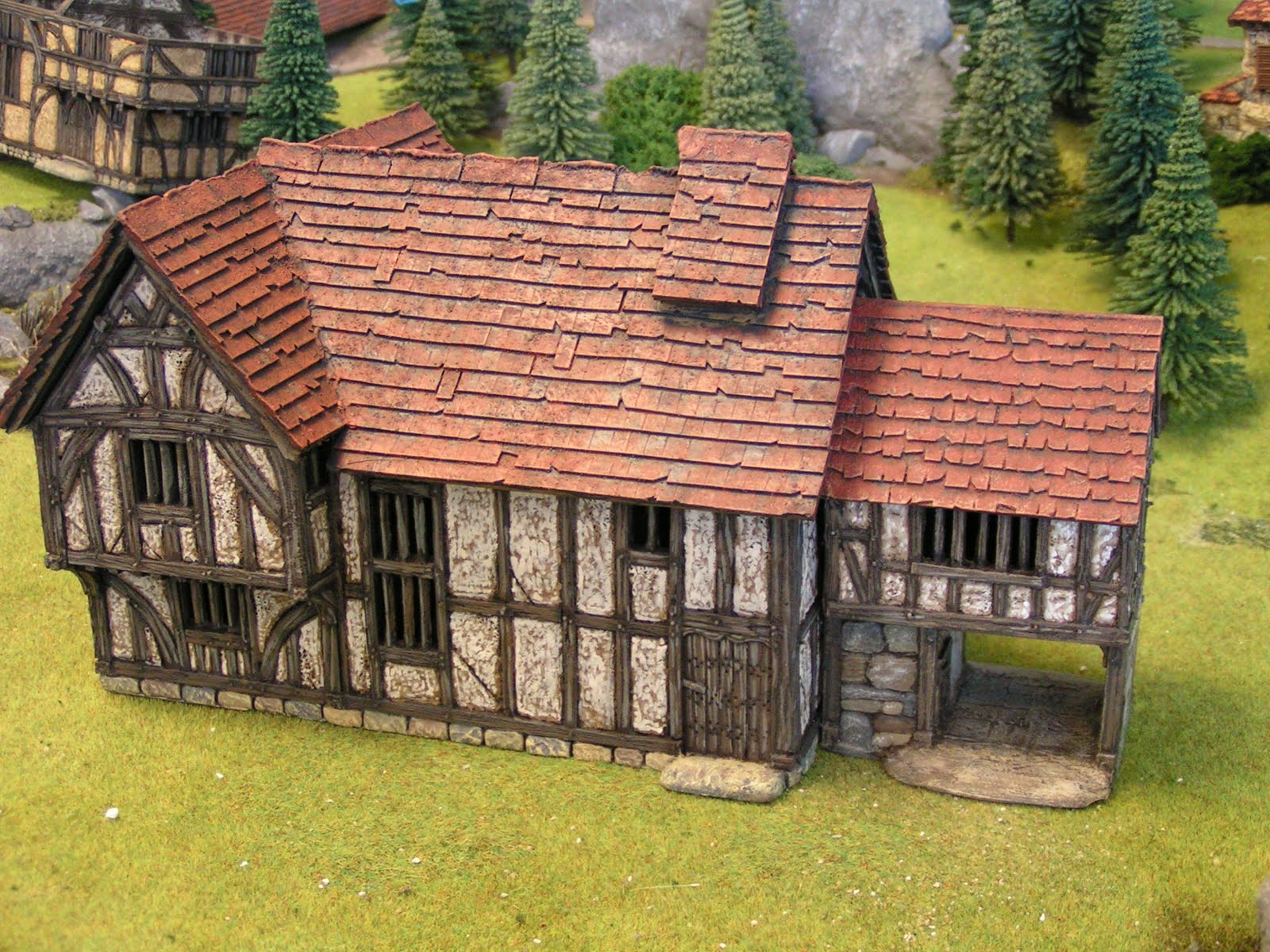 Dampfwerks The Merchant S House In 28mm