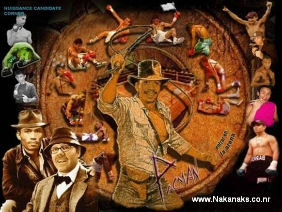 Manny Pacquiao In Indiana Jones
