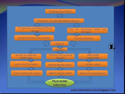 Lionheart Nurses Blog Pathophysiology Of Myocardial Infarction