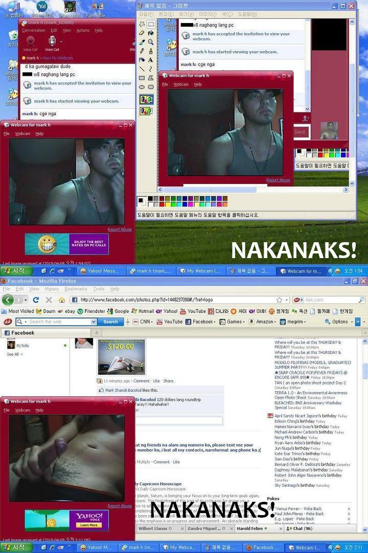 Mabilis na kumalat itong webcam scandal na kinasasangkutan ni Mark Herras.