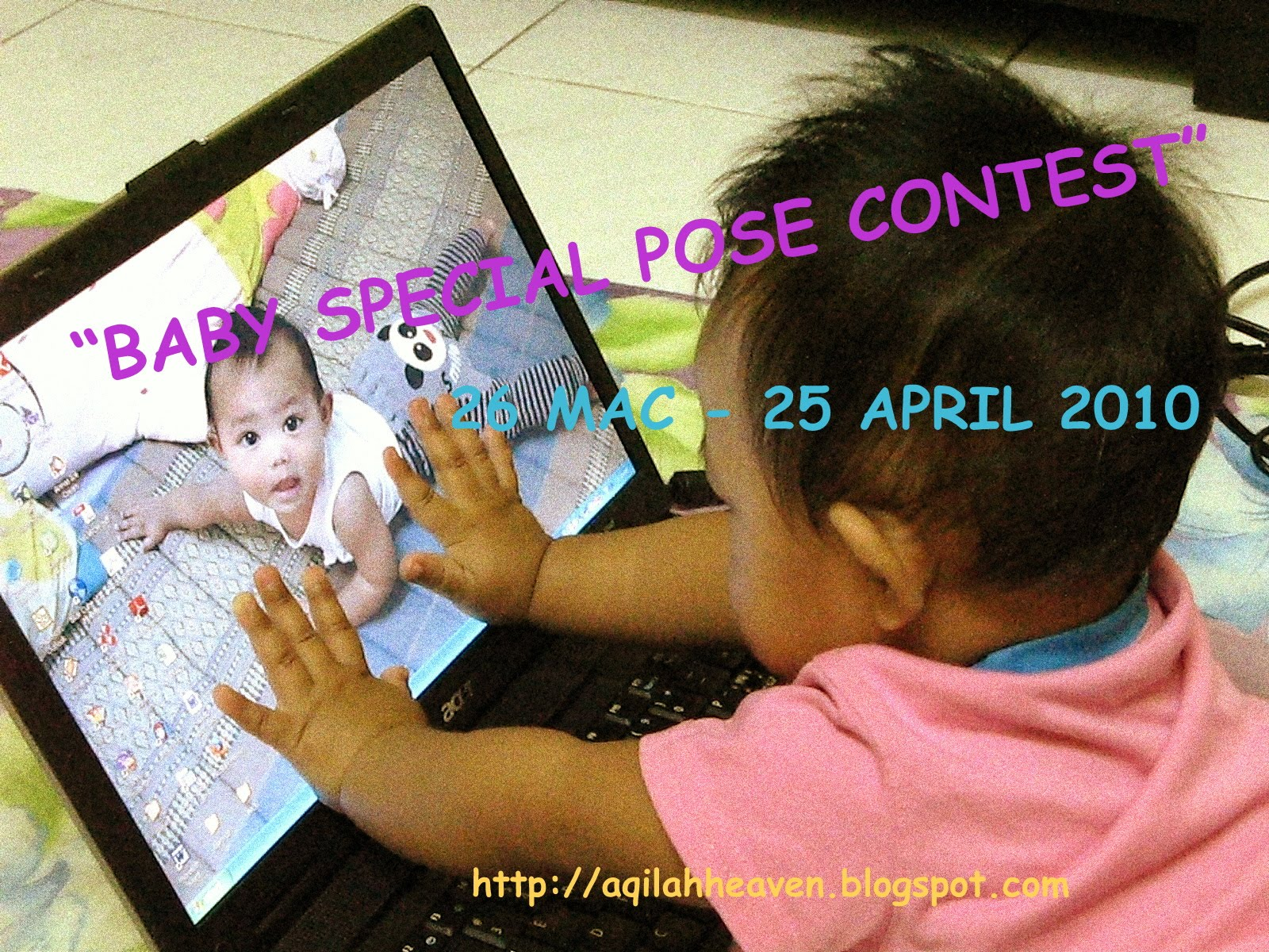 Baby Special Pose Contest