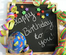 Deus abençõe os aniversariantes do mês!  Maio - 2011