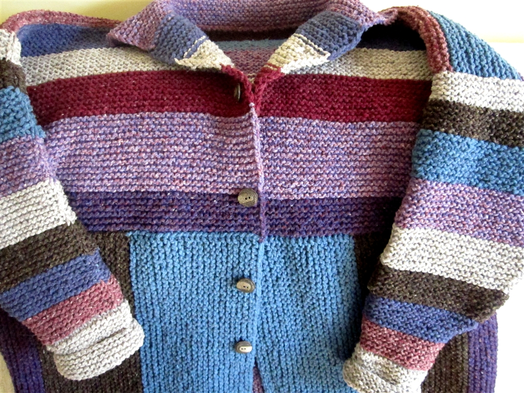 Hot-Flashed Funk: You Dont Have to Be An Einstein to Knit This Coat