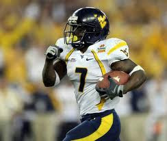 West Virginia Running Back Noel Devine
