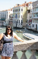 Allison in Venice on a FABULOUS spring break!