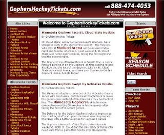 Gophers Hockey Tickets Website