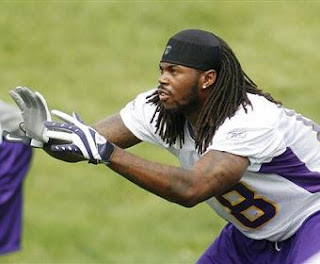 Sidney Rice Minnesota Vikings