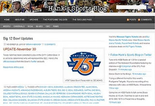 Hanks Sports Blog
