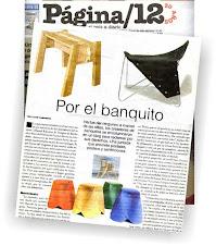 Extra, extra!!! Los Banquitos en el Página!!!