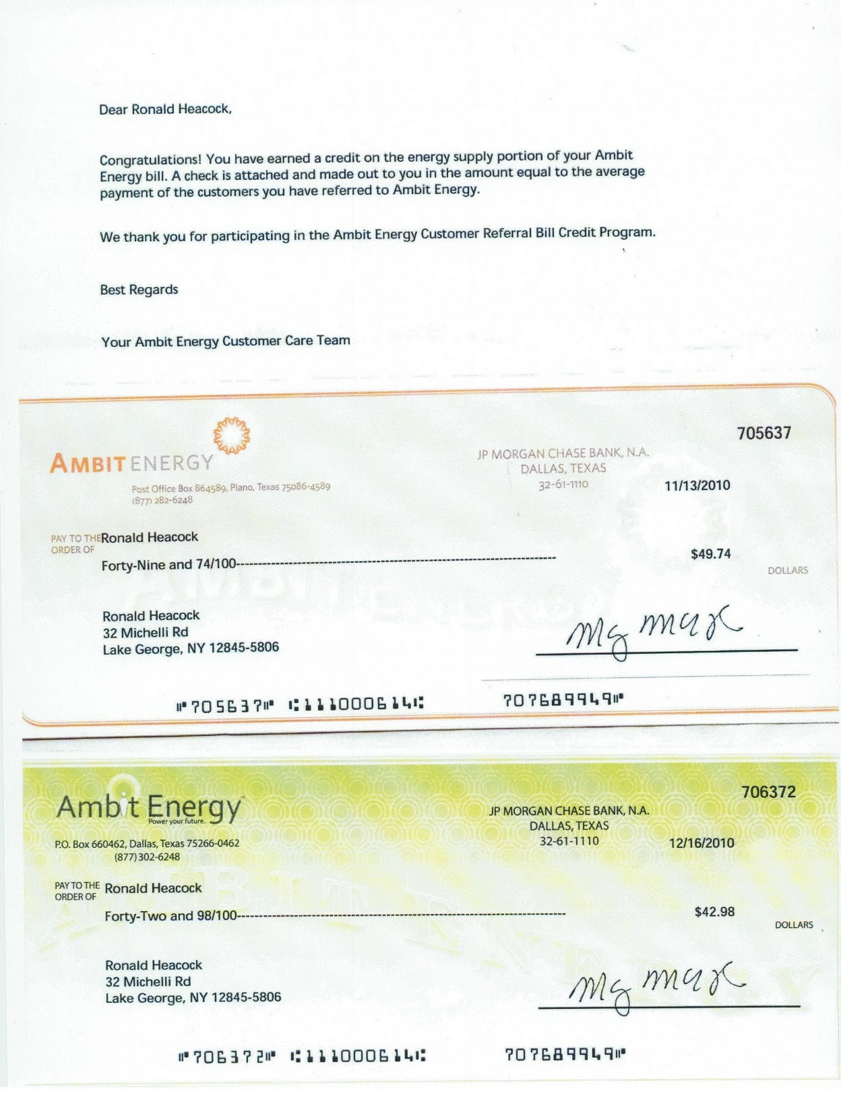 Energy From Ambit