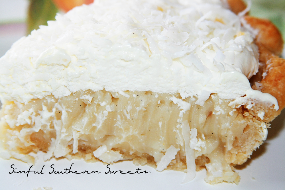 Sinful Southern Sweets: Coconut Cream Pie