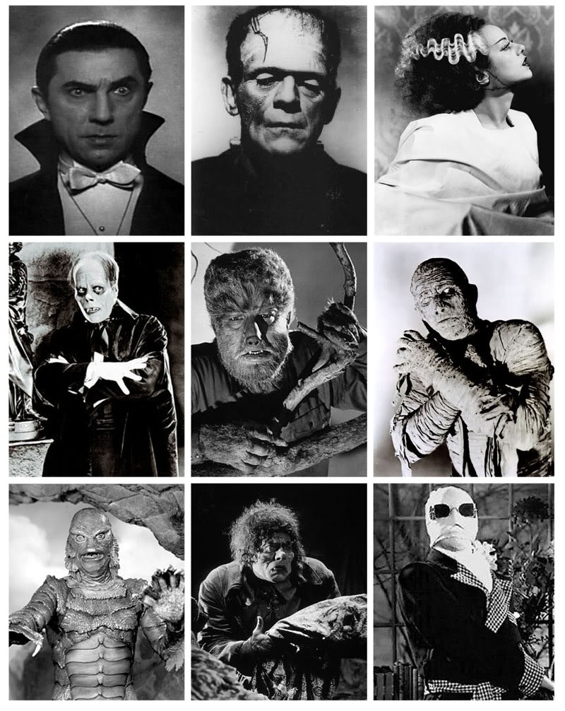 Universal monster movie classics