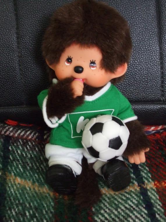 je joue au foot