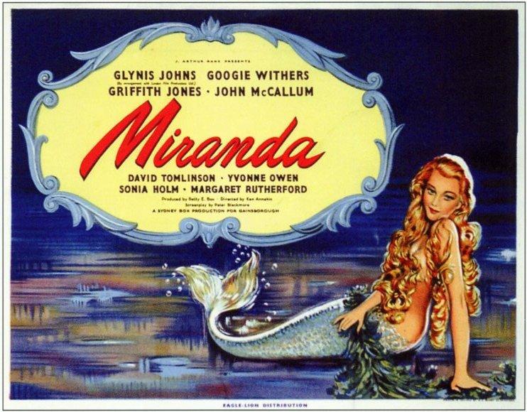 Miranda (1948 film) movie scenes Miranda 1948