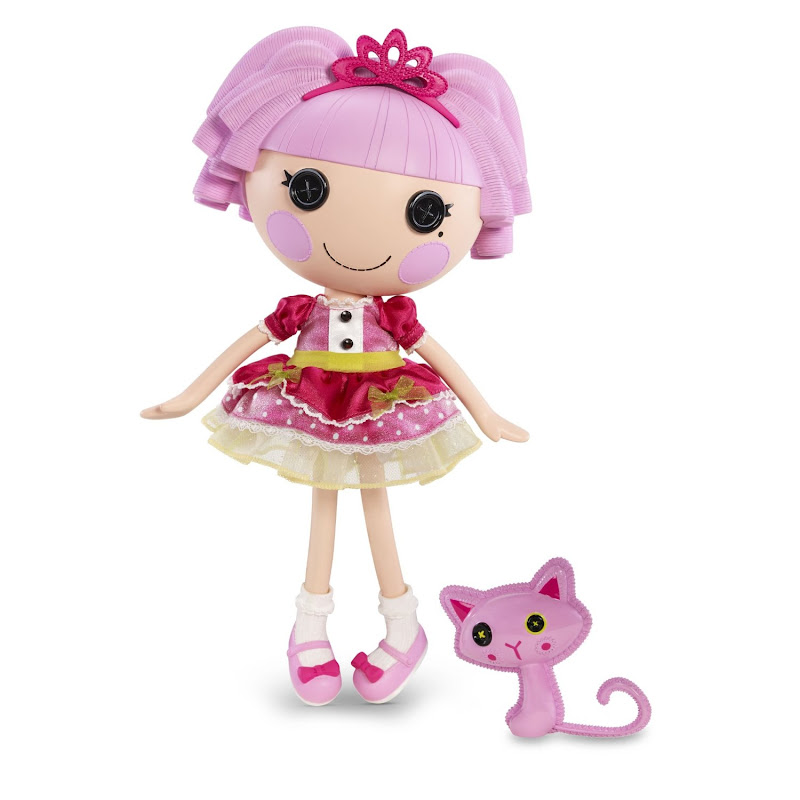 for Christmas. Lalaloopsy Jewel Sparkles is now safely tucked away title=