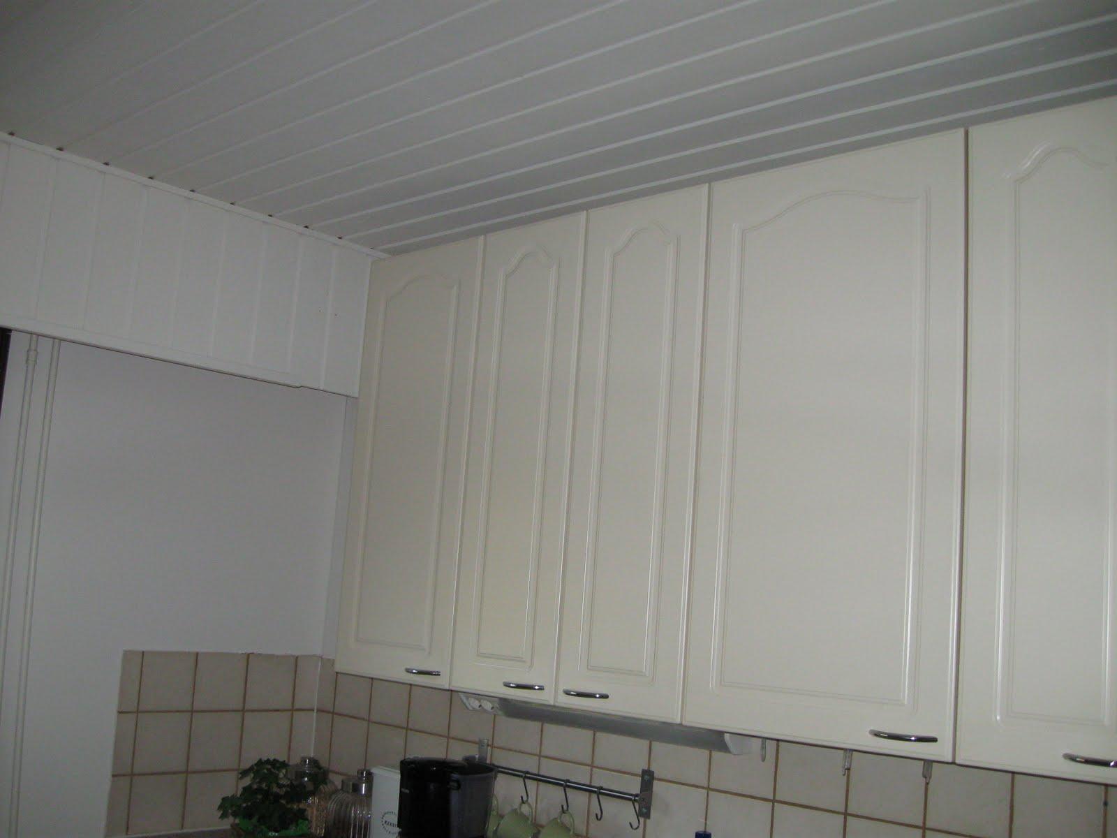 Haaveena valkoinen koti Keittiöremontti