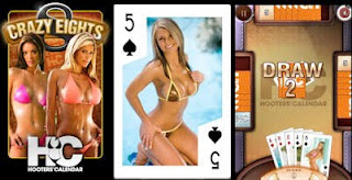 Hooters Crazy Eights App