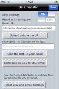 iSeismometer - Did the earth move for you - report an earthquake