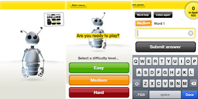 the Times Spelling Bee app screenshots