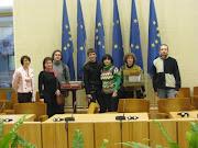 Педагоги центру творчості у сеймі Литовської республіки