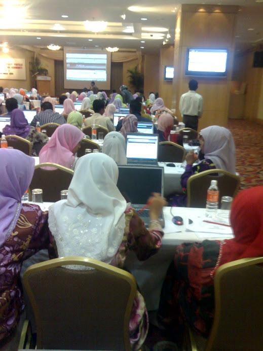 Kursus Tahap 2 di Hotel Corus Kuala Lumpur.