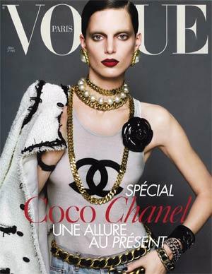 """""""Vogue"""" Paris, março de 2009"""
