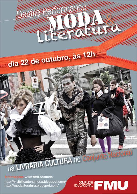 2010 : MODA E LITERATURA