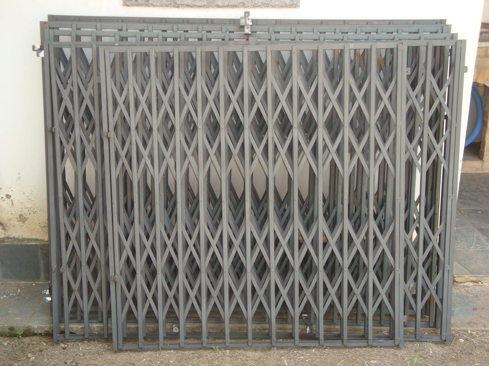 #777054 SERRALHERIA ADRIANO: Janela pantografica 4166 Grades Para Janelas Em Arco