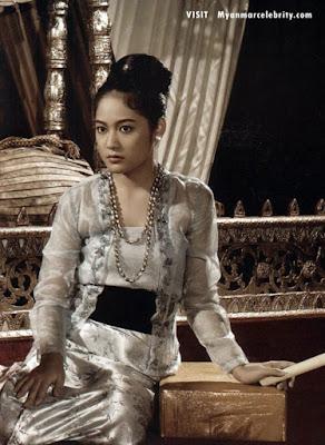 Burmese Classic Fashion Wearing and Burmese Cute Model Girls ...