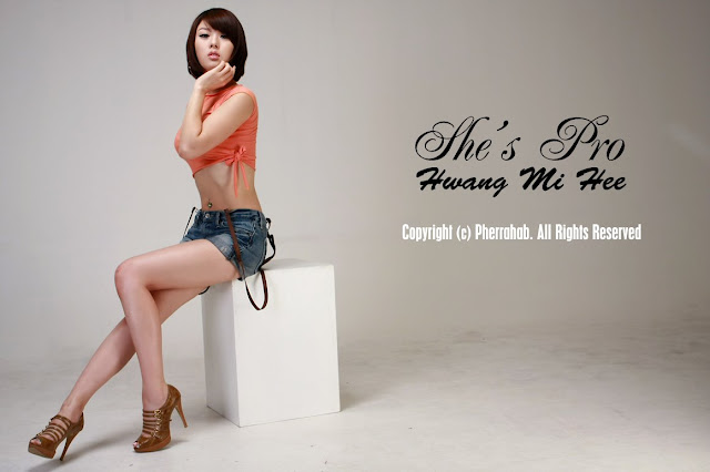 Hwang Mi He hot
