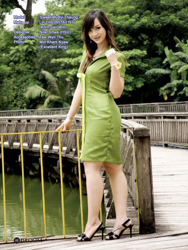 Girl myanmar pretty Burmese Women−Best