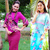 Celebrity Fashion: Moe Yu San in Myanmar Fashion Dresses