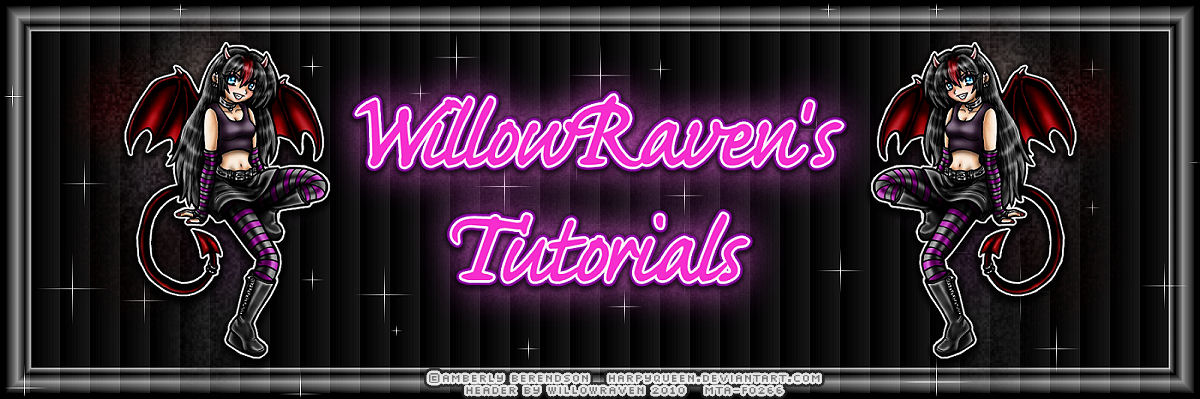 WillowRaven's Tutorials