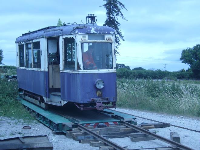 Unloading the Gratz tram