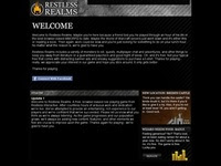 Restless Realms Game