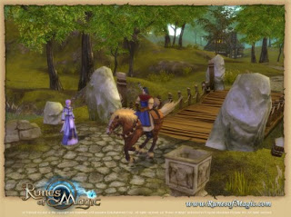 Runes of Magic is a fantasy MMORPG (Massively  Multiplayer Online Role-Playing Game) without monthly costs and free to  download. Dive into Taborea, a magical world full of wonders and ancient  mysteries. Meet mythical and dangerous creatures and solve the puzzle  of the long perished kingdoms. It is up to you, to discover Taborea and  to write the history of that world!