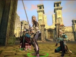 Granado Espada has many features that sets this game aside from other MMORPG´s. There is a multiple character control feature where a player can control a party of up to three different characters at once after completing some quests. You can choose which character to lead the party using the Barracks system to set each characters' order and controlling each one is no hassle with the MCC system. There are also other numerous systems such as warp, npc adoption, duel, stance, and etc. There are currently five different characters to choose from: Fighter, Wizard, Warlock, Musketeer, and Scout.