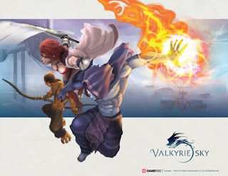 Valkyrie Sky: Closed Beta Service Games