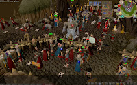 RuneScape is a Java-based MMORPG with some degree of 3D rendering and takes place in the fantasy-themed realm of Gielinor, which is divided into several different kingdoms, regions, and cities.
