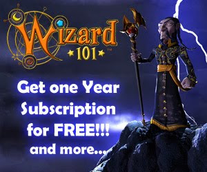 Wizard101: Get one Year Subscription and more for free!
