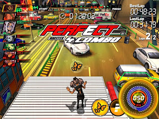 FreeJack is a parkour racing game with slick cartoon-style graphics and innovative new gameplay mechanics based on the underground sport of free running. In FreeJack, players race head-to-head across the urban metropolis of New Jack City as one of four hip characters, bustin' stylish flips and tricks to increase their speed and gain access to hidden pathways and shortcuts.