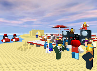 Roblox is a free Lego style Multiplayer game, where you play in user-created worlds with blocks.