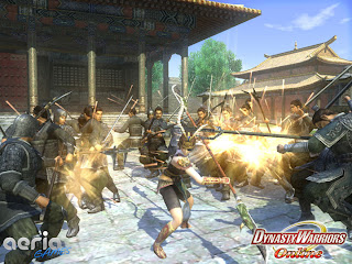 Dynasty Warriors Online is a free to play action-oriented tactical combat mmorpg, focusing on frenetic fighting and deadly showdowns against giant hordes on sprawling battlefields.