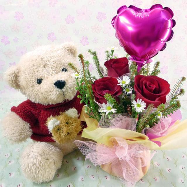 Teddy Bears: Teddy Bears IV. - Flowers