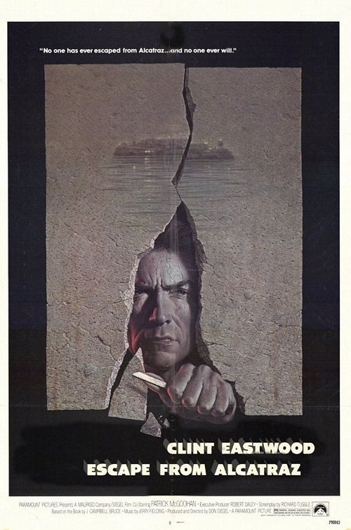 Escape from Alcatraz movies in Germany